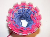 knitchat Plastic Bottle Knitting Looms