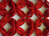 knitting-and Crazy Daisy Lattice Join