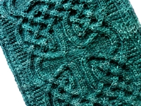 knitty Celtic Braid Cowl