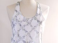 love Maegan Tank Top with Sharpie Snakeskin Print