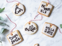 mohntage Not-only Christmas Pun Cookies
