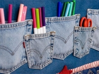 pinterest Jeans Pocket Organizer