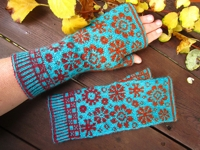 ravelry Dela Hausmann Latvian Fingerless Gloves