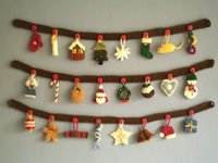 ravelry Frankie Brown Knitted Christmas Ornaments