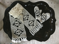 ravelry Karin Kaufmann Scarf with Crocheted Skull