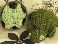 ravelry Kj Hay Crocheted Turtle with Shell Vest