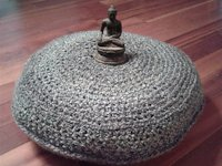 ravelry Megan Lanier Crocheted Meditation Cushion Cover