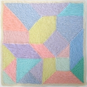 ravelry Woolly Thoughts Geometric Pillow