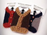 super pretty really Business Card Cardigans