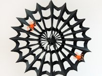this heart of mine Halloween Paper Spider Webs