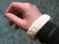 unikatissima Knitted Bangle