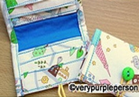 verypurpleperson Mini Wallet