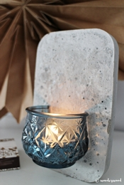 wonderwood Glass Wall Candle Holder