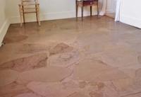 Fußboden Aus Packpapier ~ Bodenbelag aus braunen papiertüten u unikatissimas