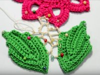 youtube  WIKA Crochet Join Irish Crochet Motifs