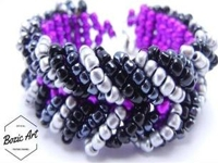 youtube Bozic Art Beaded Chevron Bracelet