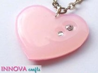 youtube Innova Crafts Glue Gun Heart Pendant