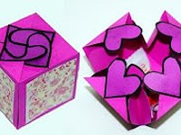 youtube Julia DIY Hearts Gift Box Hearts Gift Box