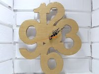 youtube Just Victor Vic Cardboard Numbers Clock