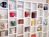 youtube Land to House Mug Shelf