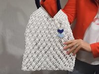 youtube MACRAME MAGIC KNOTS Macramé Bag