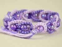 youtube Macrame School Beaded Macrame Bracelet