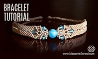youtube Macrame School Macrame Bracelet