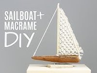 youtube Macrame School Macrame Sail Boat