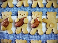 youtube MosoGourmet Teddy Bear Cookies