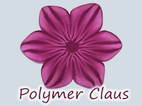 youtube Polymer Claus Polymer Clay Flower Cane