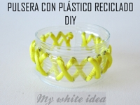 youtube Veva Pineiro Recycled Plastic Bracelet
