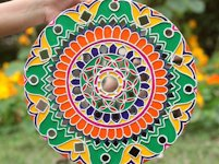 youtube artwithdEva Canvas Mandala