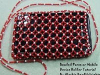 youtube beadifulnights Beaded Purse