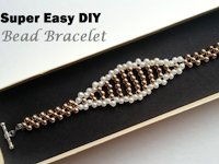 youtube beading tutorials Elegant Beaded Bracelet